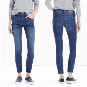 "Madewell Jeans - Madewell 9"" High Rise Skinny Skinny Crop Jeans"